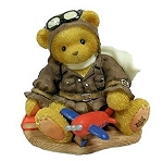 Cherished Teddies Lance Come Fly With Me Pilot 337463