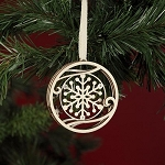 Flourish Snowflake Hanging Ornament 4027651