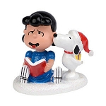 Department 56 Peanuts Snoopys Christmas Kiss 4032414