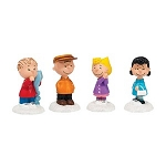 Department 56 Peanuts Peanuts Gang Set of 4 4038642