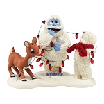Snowbabies Rudolph Lighting Up Bumble 4042509