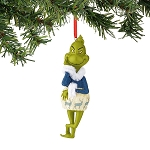 Grinch Blue Deer Sweater Ornament 4044923