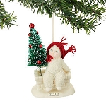 Snowbabies Tree Top Dated 2015 Ornament 4045814