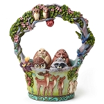 2016 Woodland Easter Basket With Eggs 4048850