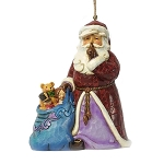 Santa with Toy Bag Ornament 4049405
