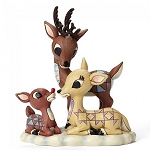 Rudolph with Donner and Mother 4053071