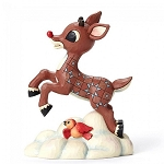 Rudolph Flying Above Clouds 4053074