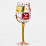 Lolita Thank You Thank You Wine Glass 4053101