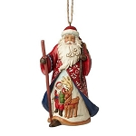Lapland Santa with Toy Bag Ornament 4053833