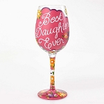 Best Daughter Ever Wine Glass 4054094