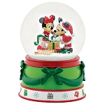 Disney Mickey & Minnie Snow Globe 4057490