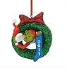 Department 56 2017 Grinch Wreath Christmas Ornament 4057460