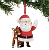 Department 56 Rudolph and Santa Ornament 4057967