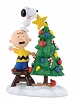 Peanuts Charlie Brown and Snoopy Tree Topper Figurine 4058131