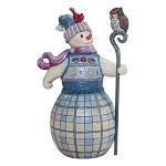 Snowman With Owl 6000672