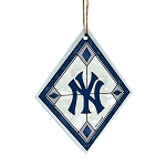 Memory Company New York Yankees Art Glass Ornament