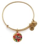 Peace of Mind Charm Bangle Rafaelian Gold