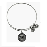 Alpha Epsilon Phi Bangle Rafaelian Silver