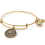 True Direction Charm Bangle Rafaelian Gold