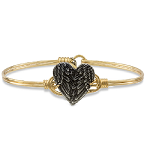 Mother's Day Angel Wing Heart Bangle (Limited Edition)