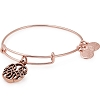 Path of Life  Charm Bangle Rose Gold
