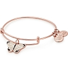 Mon Amie Butterfly Color Infusion Charm Bangle Rafaelian Rose Gold