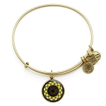 Sunflower Charm Bangle Rafaelian Gold