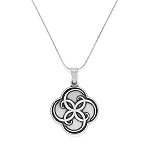 Breath of Life Expandable Necklace Rafaelian Silver