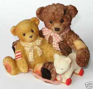 Enesco Cherished Teddies Todd and Friends 786683