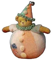 Cherished Teddies Sparky Rolly Poly Clown 789879