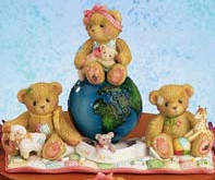 Cherished Teddies Love Spares All Nations 110009