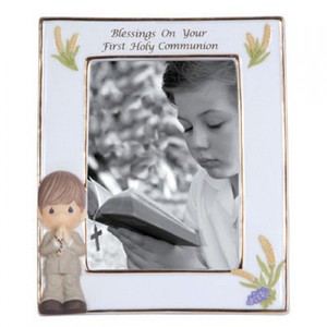 Blessing On Your First Holy Communion Boy Frame
