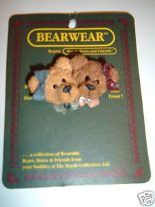 Boyds Bear Bailey and Emma Sisters 2634 Pin