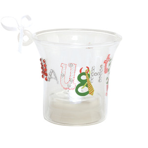 Lolita Naughty and Nice Mini Candle Ornament ORN7-5545N