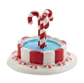Department 56 Peppermint Fountain 4025436