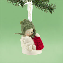 Snowbabies Snuggle with Me Ornament 4026757