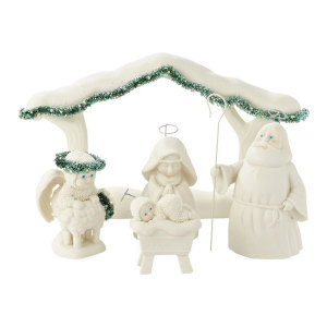 Snowbabies A Child Is Born Nativity 4031911