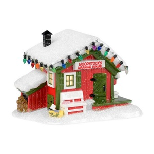 Department 56 Peanuts Woodstocks Warming House 4032208