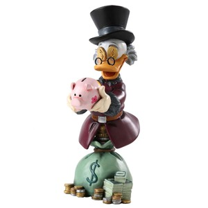 Grand Jester Scrooge McDuck Bust 4032474
