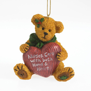 Boyds Bears Nurse Ornament 4034177