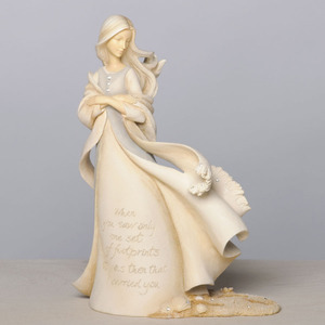 Footprints Angel Figurine 4035617
