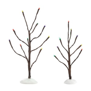 Multi Color Lights Bare Branch Trees 4038817