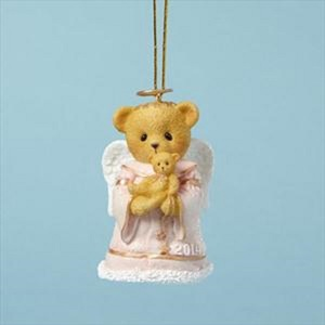 Cherished Teddies 2014 Dated Angel Bell Ornament 4040459