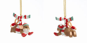 Charming Tails Thrill of the Chill Ornament 4041169