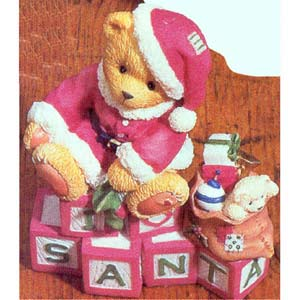 Cherished Teddies Clarence Santa Rare Retired 500364