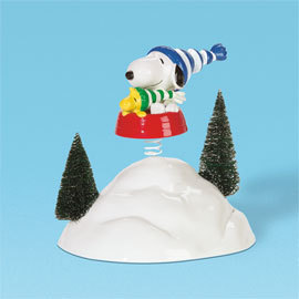 Department 56 Peanuts Snoopy The Snow Bowl 59123