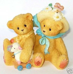 Cherished Teddies Chelsea and Daisy 597392