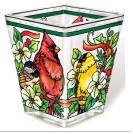 Birds of Cheer Petite Votive Holder 6088