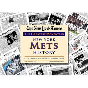 New York Mets New York Times Historic Newspaper Compilation