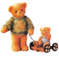 Cherished Teddies Russel and Ross 661783